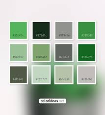Fern Gray Asparagus 60665F Color Palette | Color palette ideas