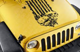 Buy Hood Zombie Skull Usa Flag Stripe Star Military Response Vinyl Sticker Decal