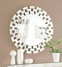 Geometric Wall Decals Shelf Mirror Set Wallpaper Art Uk Paint Design Stencils Vamosrayos