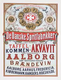 Пару постеров старой рекламы алкоголя. Аквавит Алкоголь,Крепкие напитки,Реклама