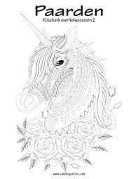 Amazon Com Paarden Kleurboek Voor Volwassenen 2 Volume 2 Dutch