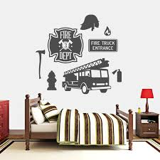 Sweetumswalldecals Firefighter Wall Decal Wayfair