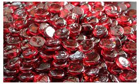 sangria fire glass beads for fire pit