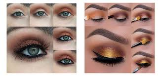 12 easy simple fall makeup tutorials