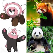 So I evolve into a giant panda ...