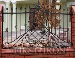 Decorative Wrought Iron Fence With Grape Leaf Design Buy Iron Fence Design Decorative Balcony Fence Grill Design Prefab Iron Fence Panels Product On Alibaba Com