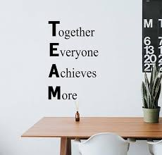 Office Wall Decal Definition Of Team Motivational Teamwork Vinyl Wall Lettering Office Breakroom Wall Quote Inspirational Gift For Boss Vinyl Wall Lettering Office Wall Decals Letter Wall