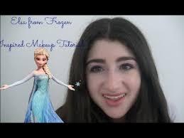 elsa frozen makeup tutorial