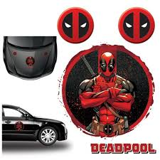 Deadpool Car Graphics Set Entertainment Earth
