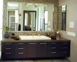 bathroom mirror mosaic frame