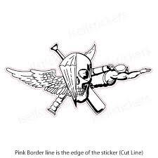 Us Marine Jack Of All Trades Usmc Military Bumper Sticker Window Decal