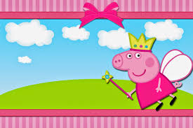 Peppa Pig Hada Invitaciones Para Imprimir Gratis Ideas Y