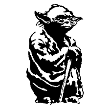 Yoda Die Cut Vinyl Decal Pv1213 Pirate Vinyl Decals