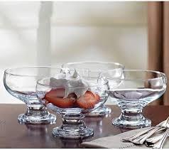 4 best design bulk glass dessert bowls