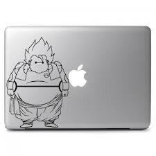 Baymax Fat Dragon Ball Super Saiyan Ssj Apple Macbook Air Pro 13 15 17 Vinyl Decal Sticker Dreamy Jumpers