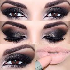 corrector makeup smokey brown eyes makeup