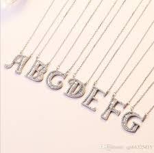 whole 26 english letter pendant