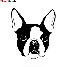 Nakleyka Sticker On Car Boston Terrier Car Sticker Funny Car Stickers Styling Removable Decal Buy At A Low Prices On Joom E Commerce Platform