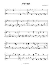 Ed Sheeran - Perfect Sheet music for Piano (Solo)