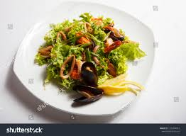 Seafood Salad Menu Restaurant ...