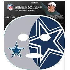 Dallas Cowboys Game Day Face Temporary ...
