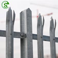 Palisade Design Security Steel Boundary Fencing Powder Coated Galvanized Wall Top Spike Fence Buy Wall Spike Fence Wall Top Fence Steel Boundary Wall Fence Product On Alibaba Com