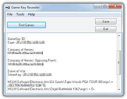 cd keys or serials for your pc games
