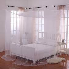 Casablanca Kids Bed Canopy Palace 4 Post Bed Sheer Mosquito Net Panel Canopy Multiple Colors Walmart Com Walmart Com