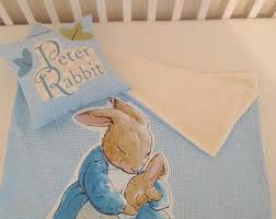 peter rabbit coverlet blanket and