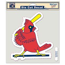 St Louis Cardinals Car Window Decal 8 Decal Retro Sportscards Com