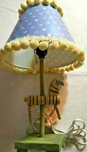 Table Lamp Kid S Room Children Animals Safari Bedside Lamp Children S Lamp Lamp For Sale Online Ebay