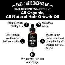 organic hair growth oils guaranteed