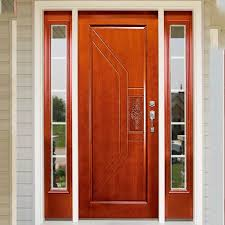front single teak wood door design