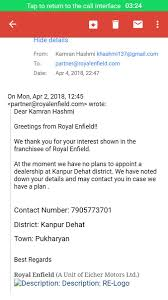 royal enfield on twitter to a