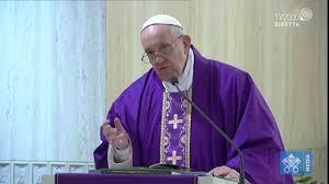 Papa Francesco, omelia a Santa Marta del 11 marzo 2020 - YouTube