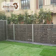 China Diy Trellis Fence Widely Used In Privacy Garden Alu Wpc Fence China Composite Fence And Composite Fencing Price