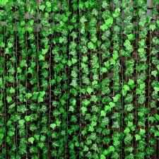 2.4m Artificial Ivy Green Leaf Garland Plants Vine Foliage Flowers Hom -  Nicerin-Best goods free shipping