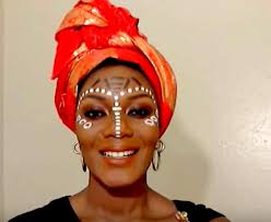 african tribal makeup tutorial