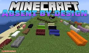 Absent By Design Mod 1 16 3 1 15 2 New Fences Walls Stairs And Slabs 9minecraft Net