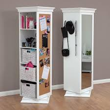 storage mirror and bookcase