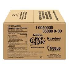 liquid coffee creamer hazelnut 0 38