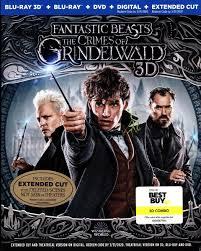 Fantastic Beasts: The Crimes of Grindelwald 3D (BD/DVD + Digital  Copy)(Exclusive)