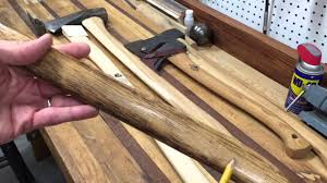 choosing the best wood for axe handle
