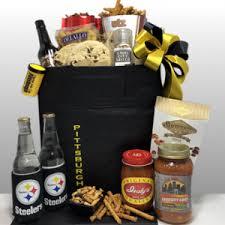 steeler gift baskets basket of pittsburgh
