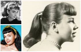 women s 1950s hairstyles an overview