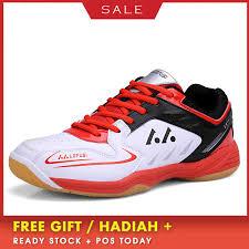 boussac badminton shoes for men leather