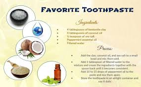 homemade natural toothpaste