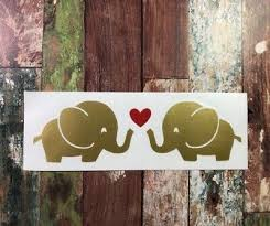 Elephant Couple Vinyl Car Decal Sticker For Hydro Flask Yeti Tumbler Bottle 2 75 Picclick