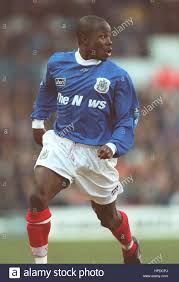 PAUL HALL PORTSMOUTH FC 17 February 1997 Stock Photo - Alamy