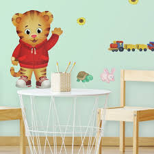Zoomie Kids Daniel Tiger Peel And Stick Giant Wall Decal Wayfair